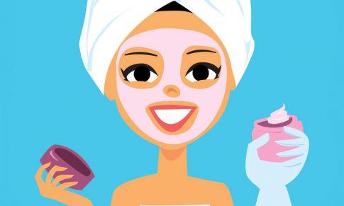 Dispensación de cosmética en la farmacia.