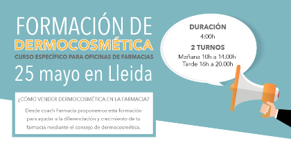 Formación en Lleida, 25 de mayo