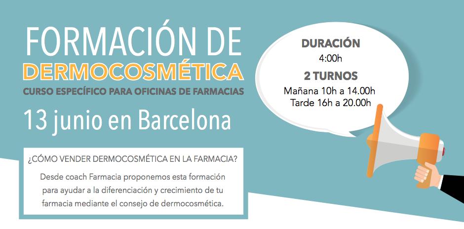 Formación en Barcelona, 13 de junio