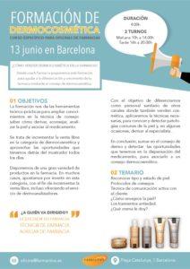 Formación dermo Barcelona pdf