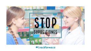 ¿Cuántas suposiciones haces cada día en el mostrador de la farmacia?